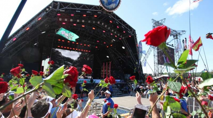 Serious Stages Shines at Glastonbury