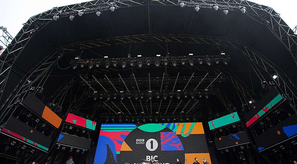 Serious Stages at BBC Radio 1 Big Weekend:
