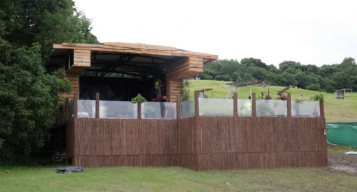 New Broadcast Studio at Glastonbury Festival 2016