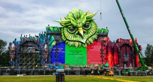 Staging Spectacular at Electric Daisy Carnival UK