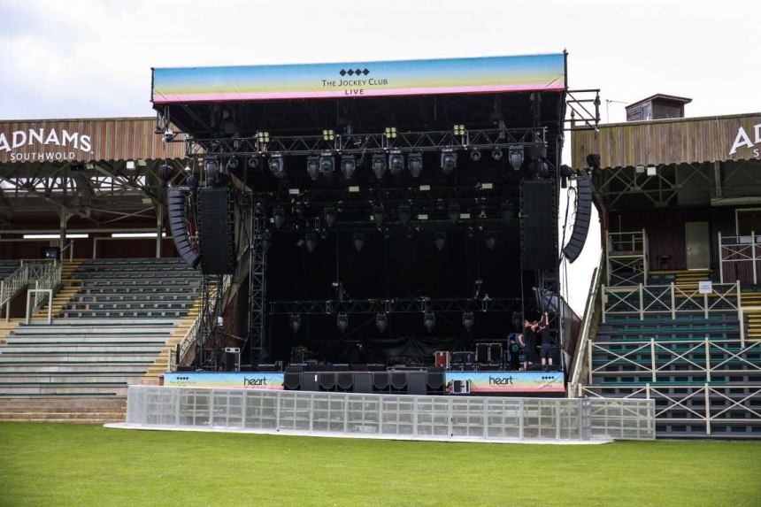 Newmarket Racecourse Gets a new Serious Stage