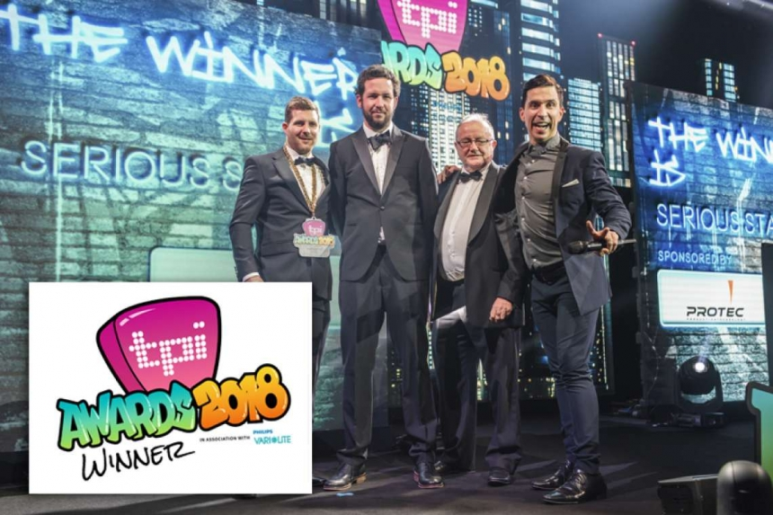 Favourite Staging Company Win at 2018 TPi Awards