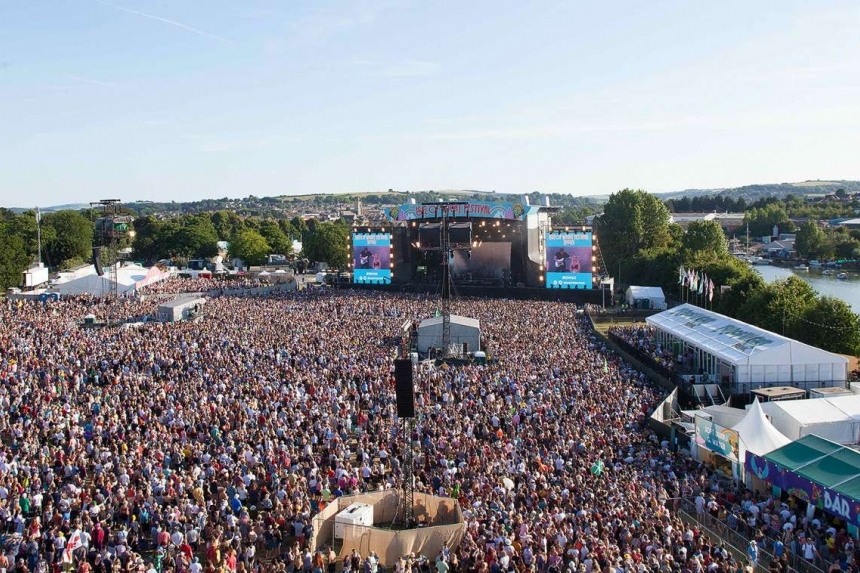 Serious Stages on Isle of Wight Festival for 50th Anniversary Show