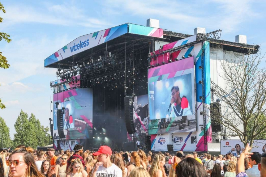 Serious Stages Stay ahead of the Curve at Wireless Festival