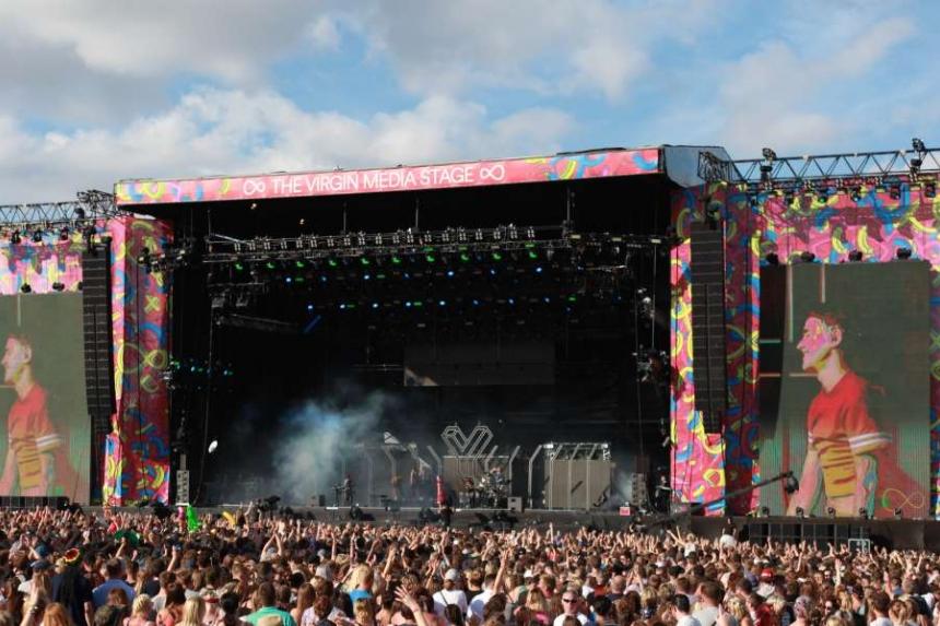 Image result for Festival Stage